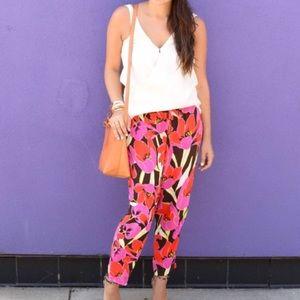 Nwot Kate Spade New York Hutton floral Pants